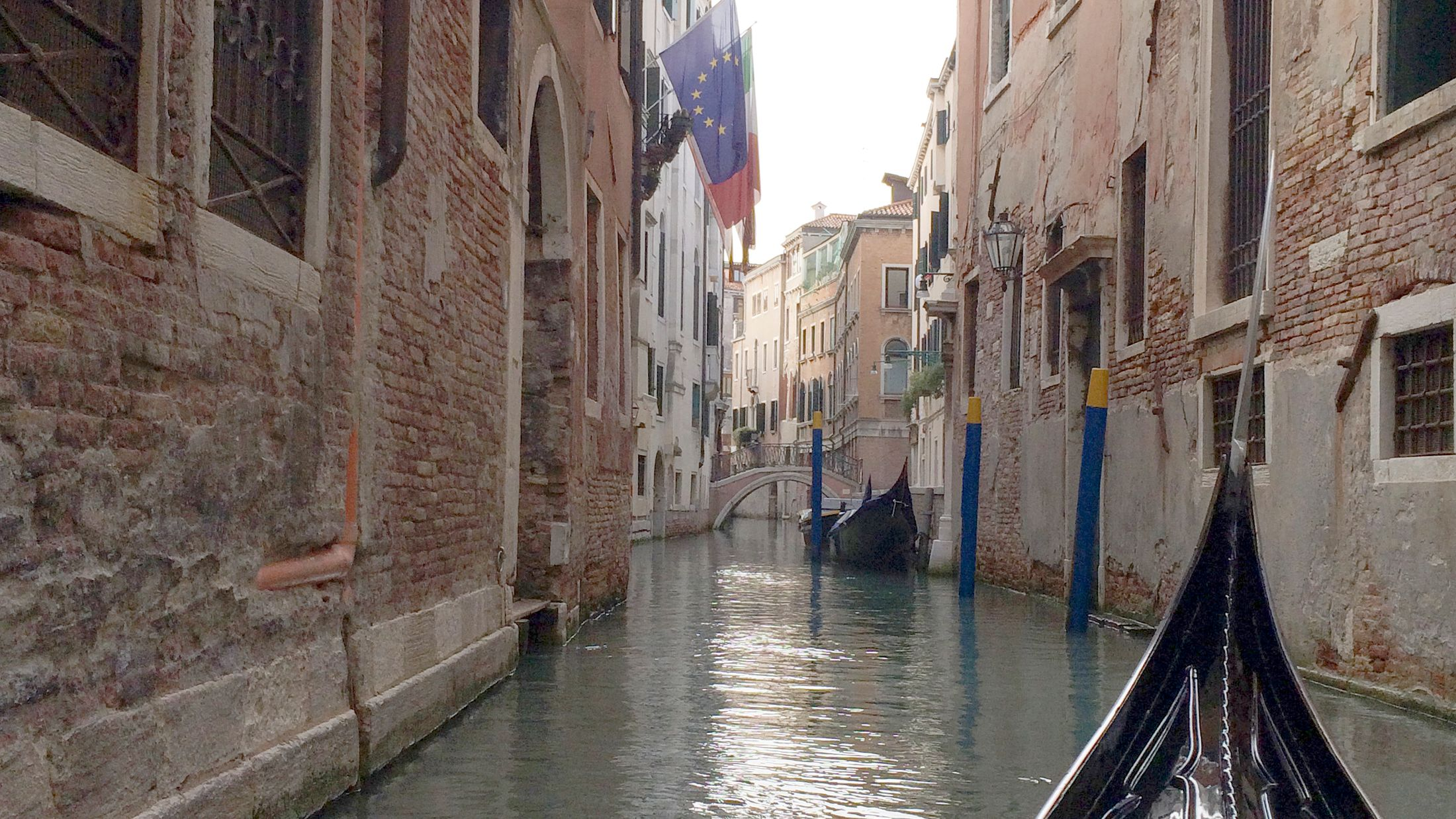 Photo from the canal in Venice